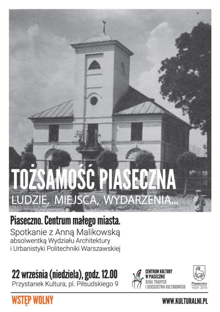 Tożsamość Piaseczna - Piaseczno centrum małego miasta