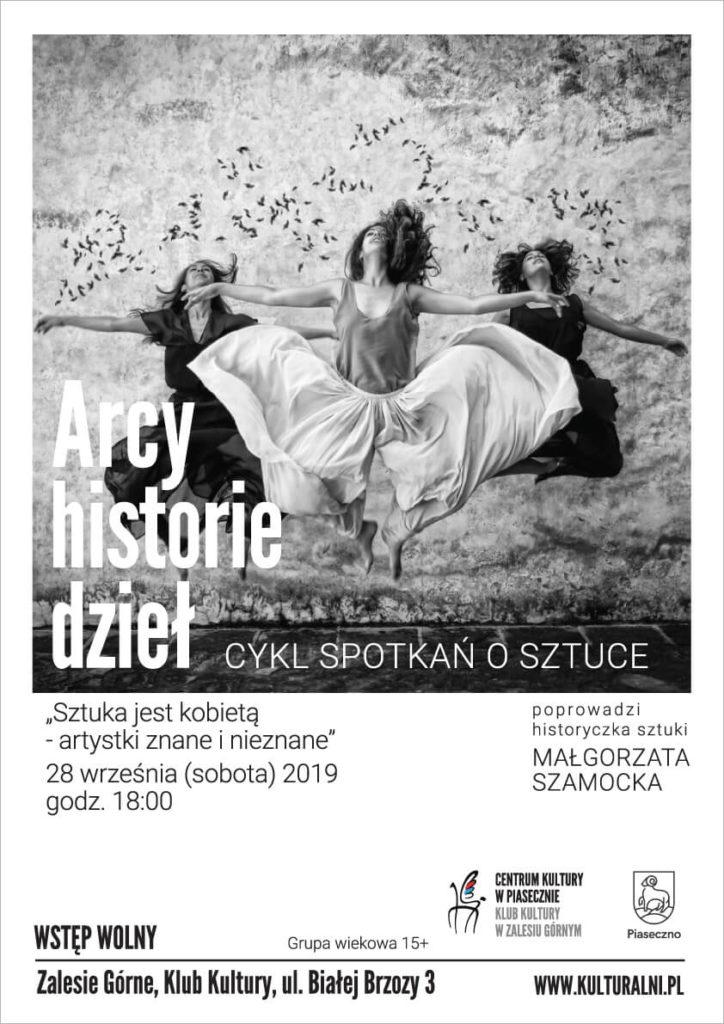 Arcy-Historie Dzieł - Sztuka jest kobietą
