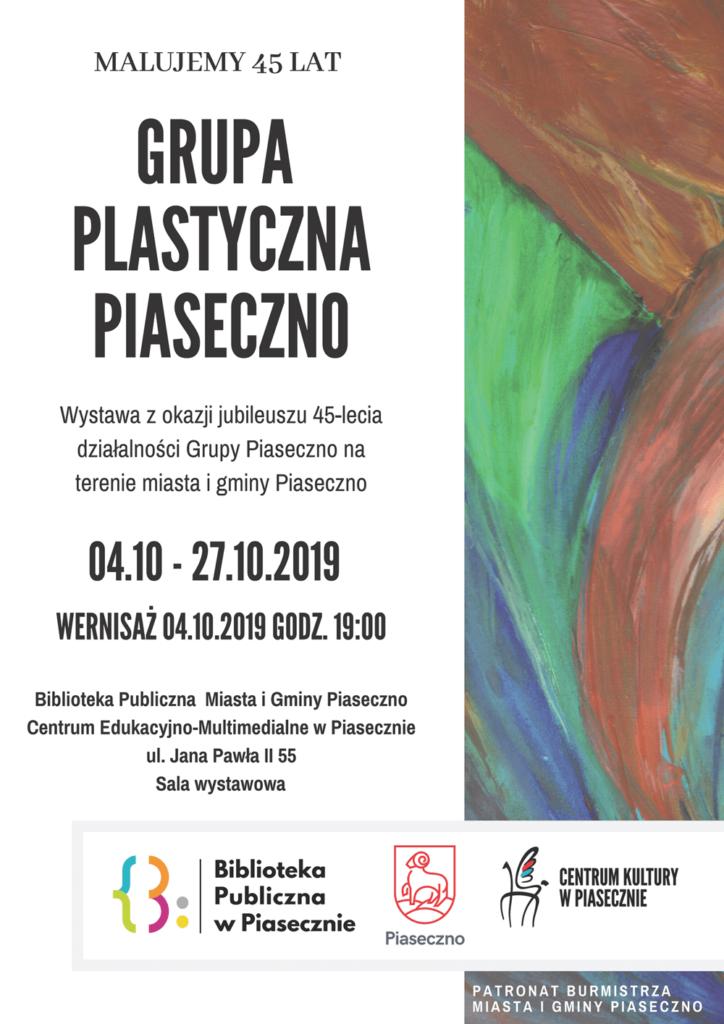 Wernisaż Malujemy 45 lat - Grupa P.Piaseczno