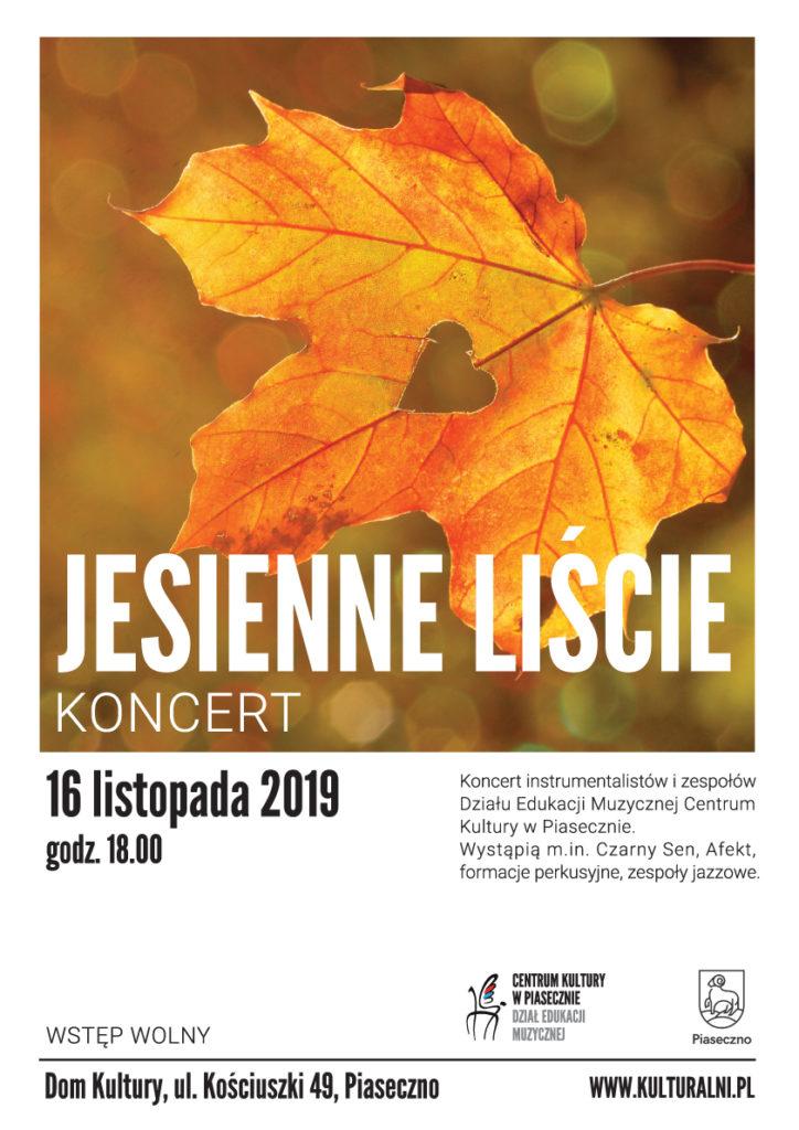 Koncert Jesienne Liście