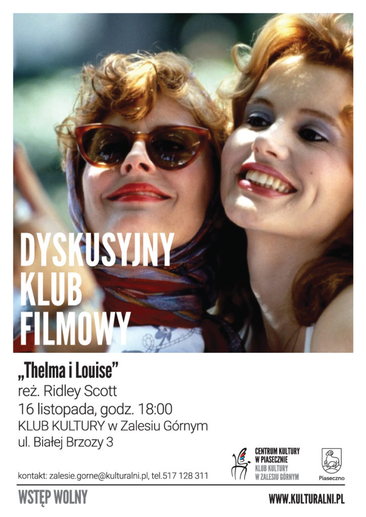 DYSKUSYJNY KLUB FILMOWY Thelma iLouise