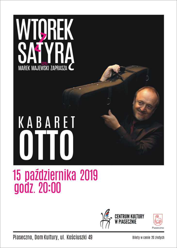 WTOREK ZSATYRĄ - Kabaret O.T.T.O