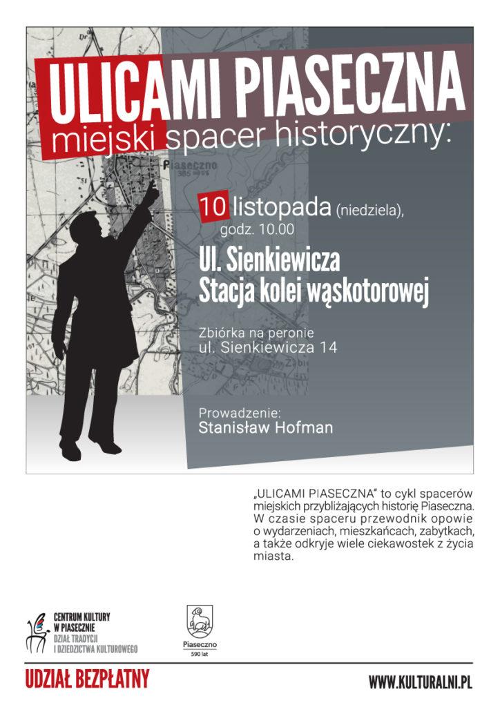 ULICAMIPIASECZNA ul.Sienkiewicza