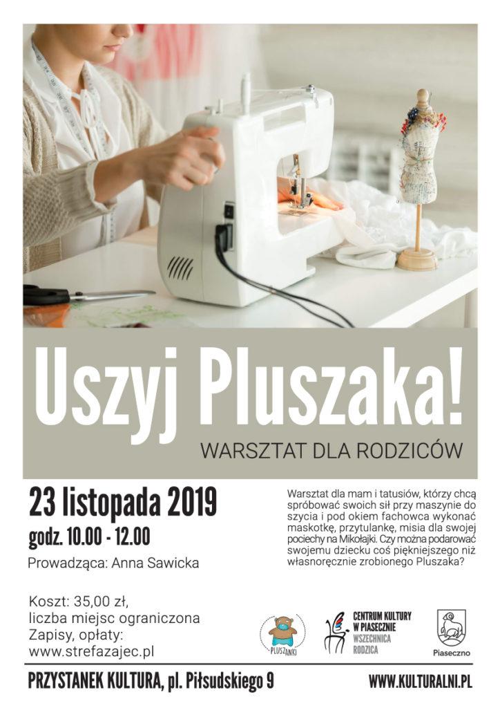 Warsztat dla rodziców Uszyj Pluszaka!
