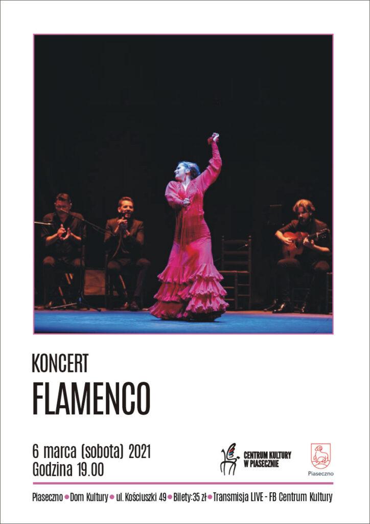"Plakat wydarzenia ""Koncert Flamenco"""