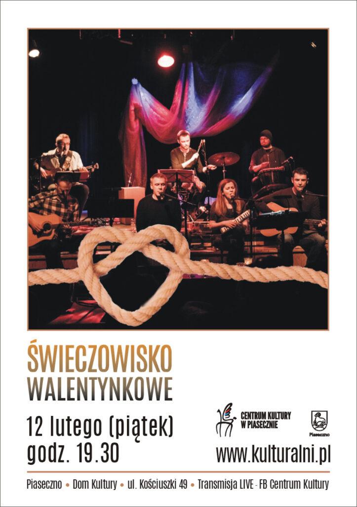 Plakat wydarzenia Świeczowisko Walentynkowe
