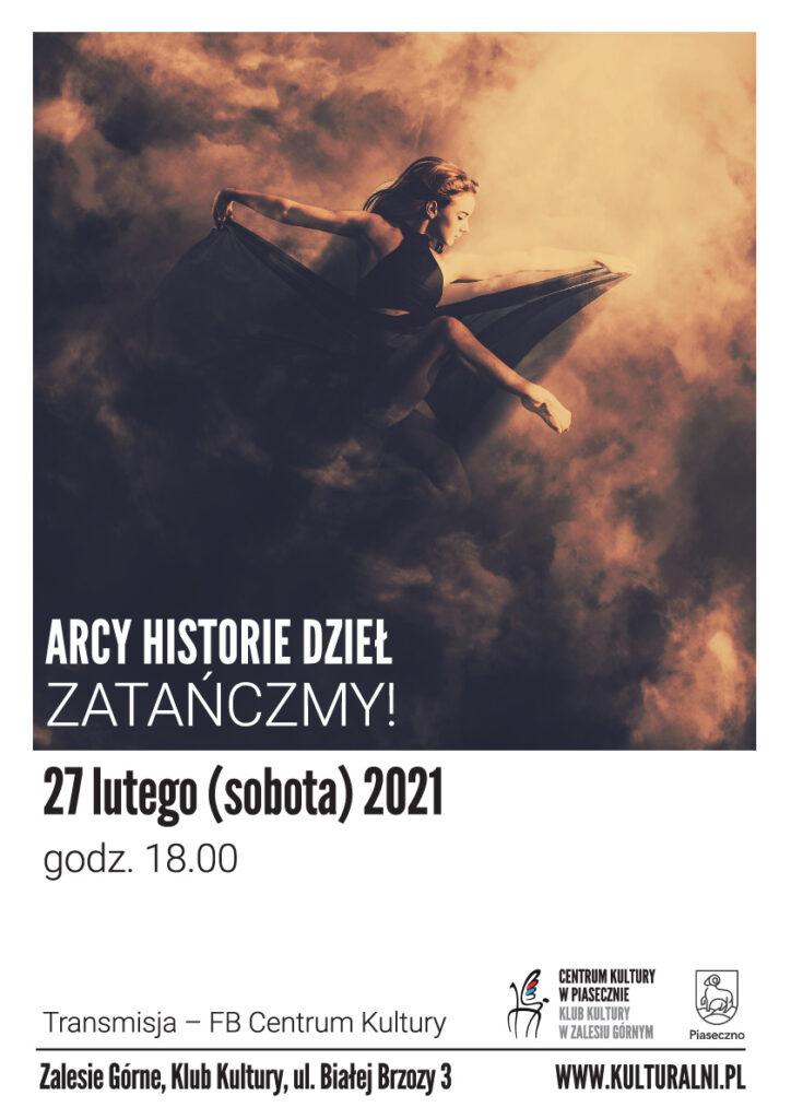Plakat wydarzenia Arcy Historie Dzieł. Zatańczmy!