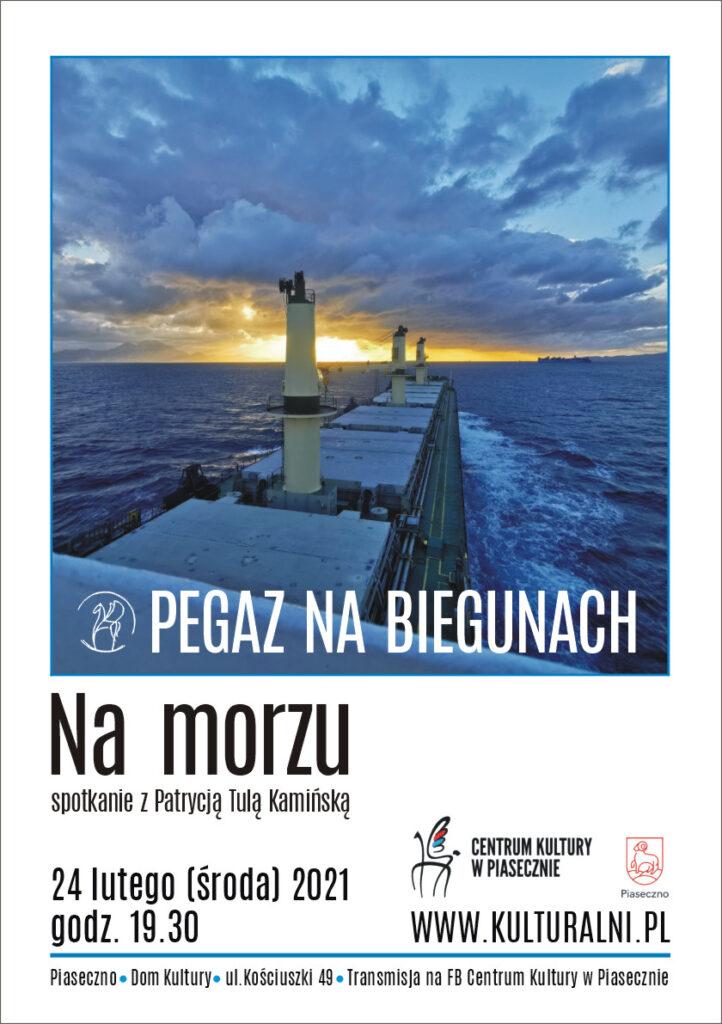 Plakat wydarzenia Pegaz nabiegunach. Namorzu