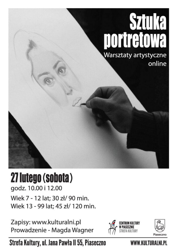 Plakat wydarzenia Sztuka portretowa
