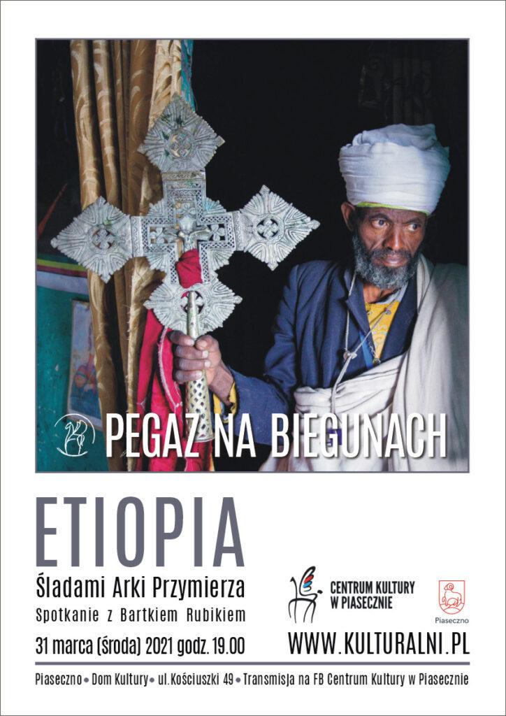 Plakat wydarzenia Pegaz nabiegunach. Etiopia