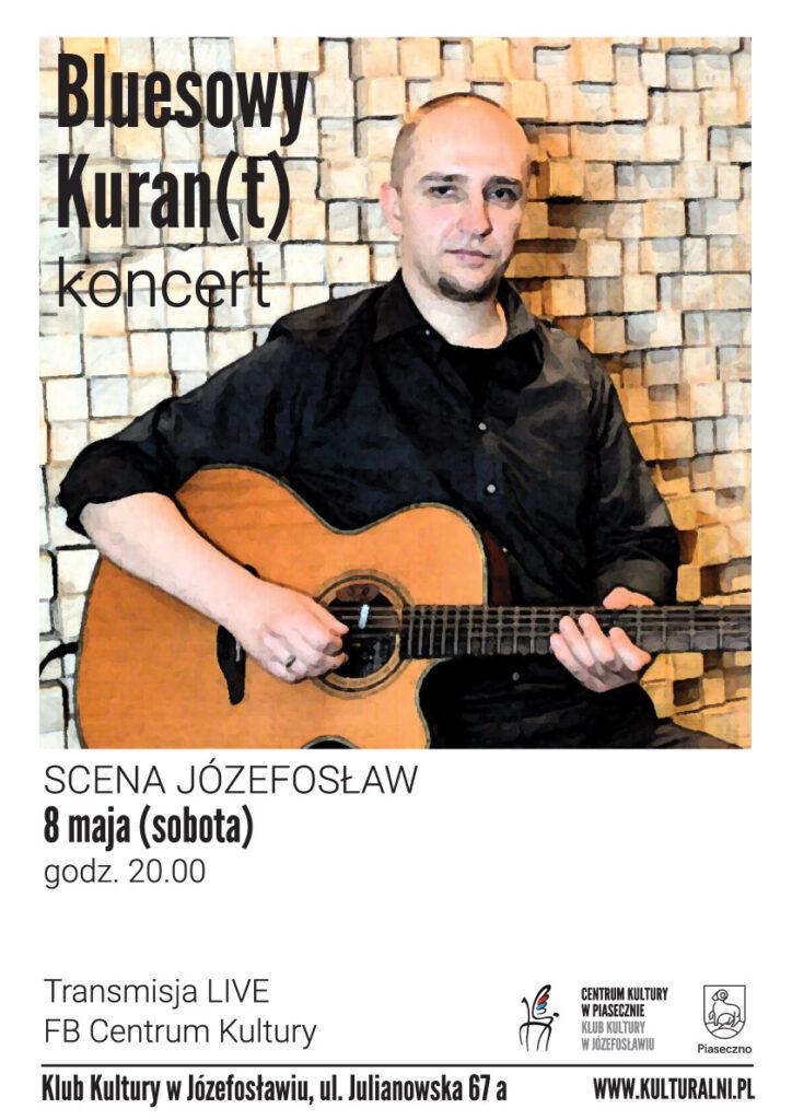Plakat wydarzenia Bluesowy Kuran(t)