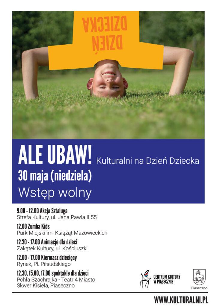 Plakat wydarzenia Aleubaw!