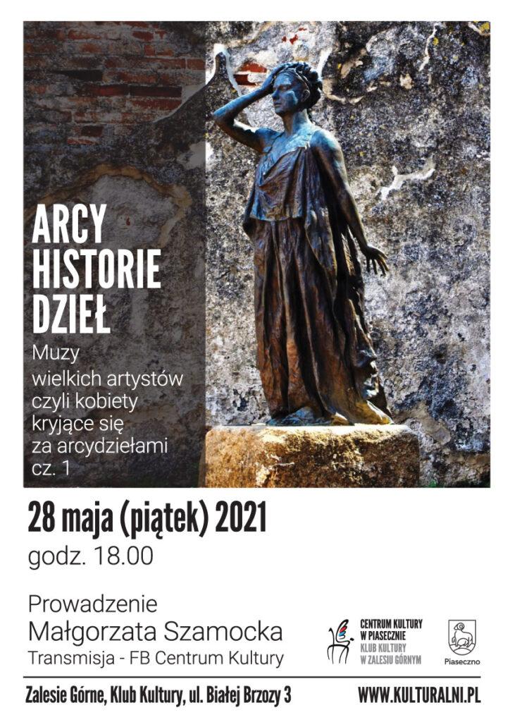 Plakat wydarzenia Arcy historie dzieł