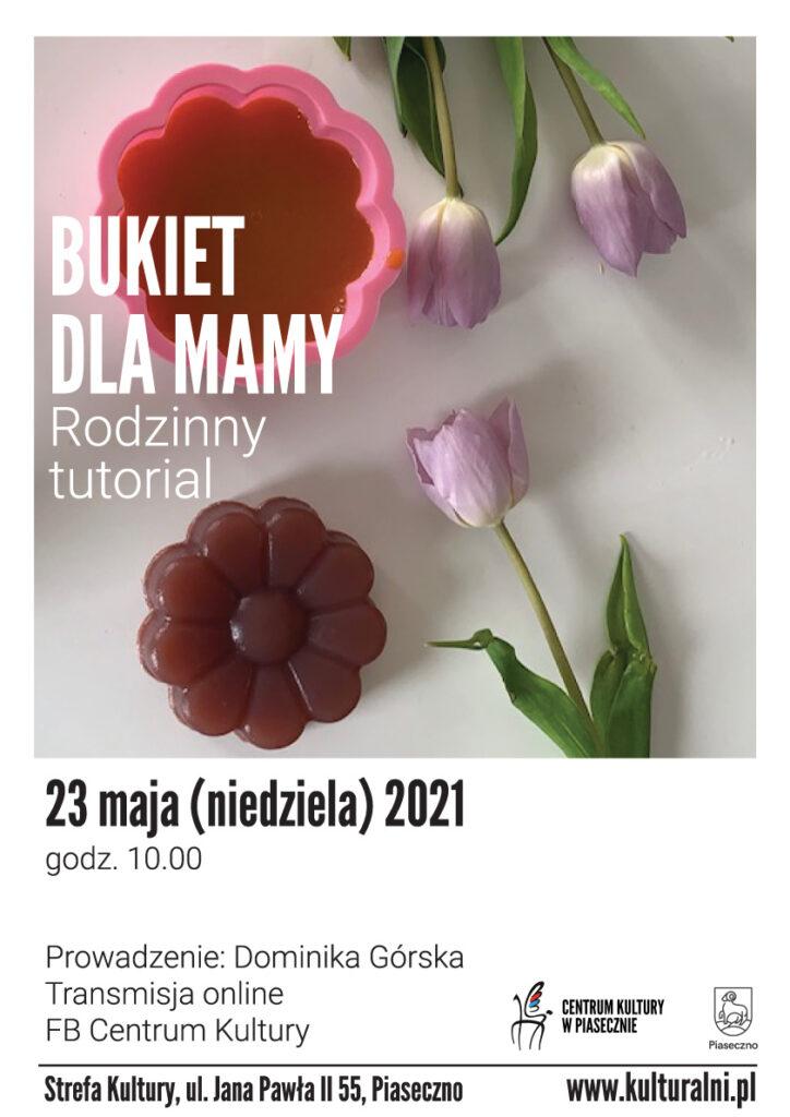 """Plakat wydarzenia """"Bukiet dla mamy"""""""
