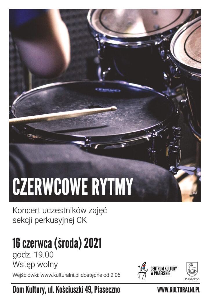 Plakat wydarzenia CZERWCOWE-RYTMY