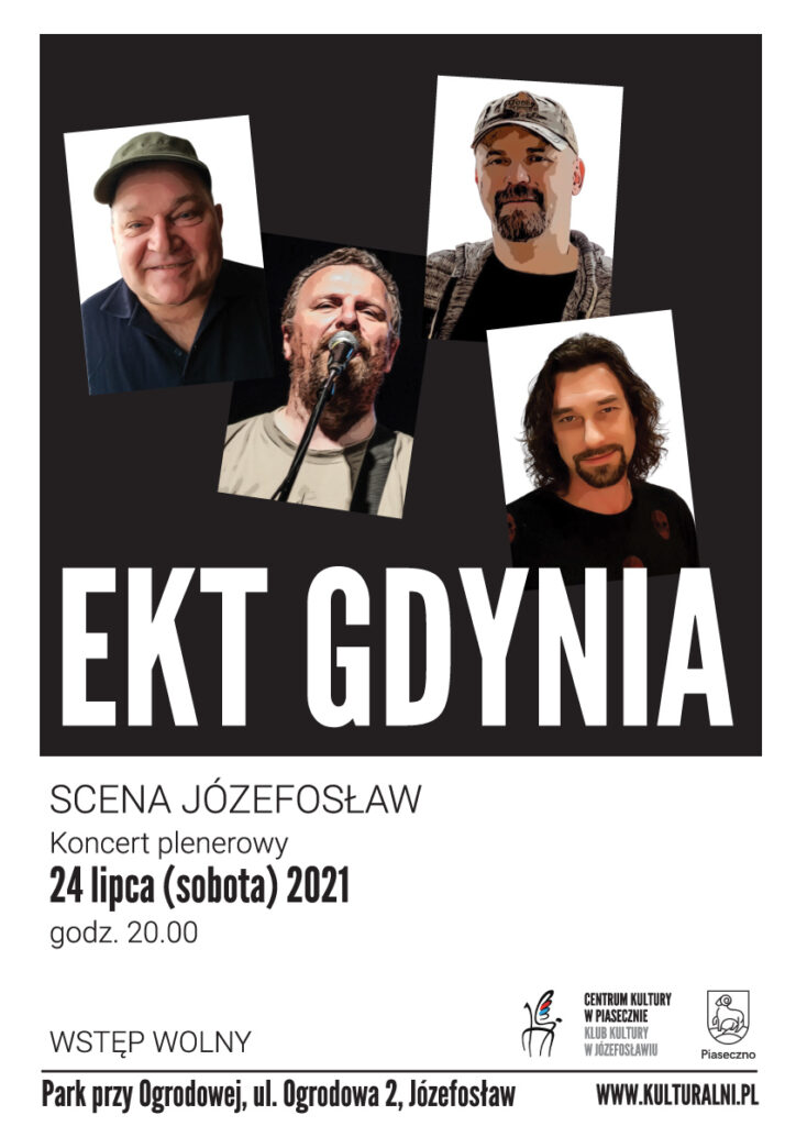 Plakat wydarzenia EKT Gdynia