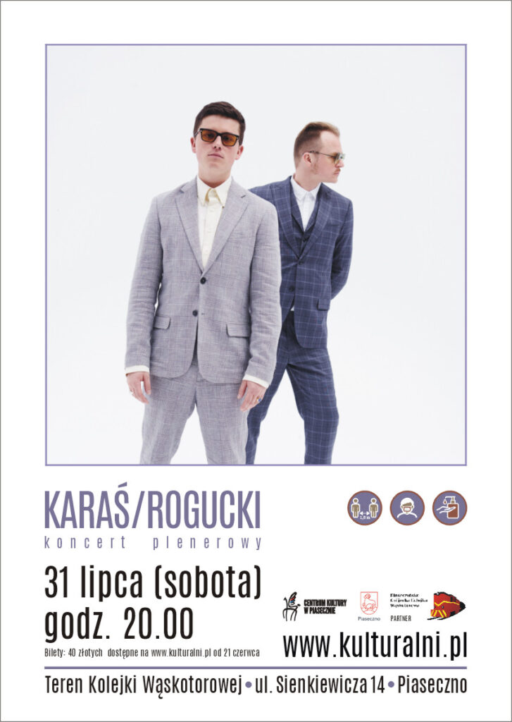 Plakat wydarzenia Karaś/Rogucki