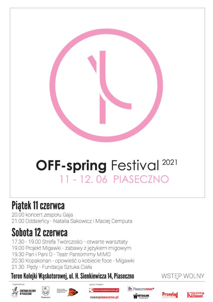 Plakat wydarzenia OFF-spring Festival