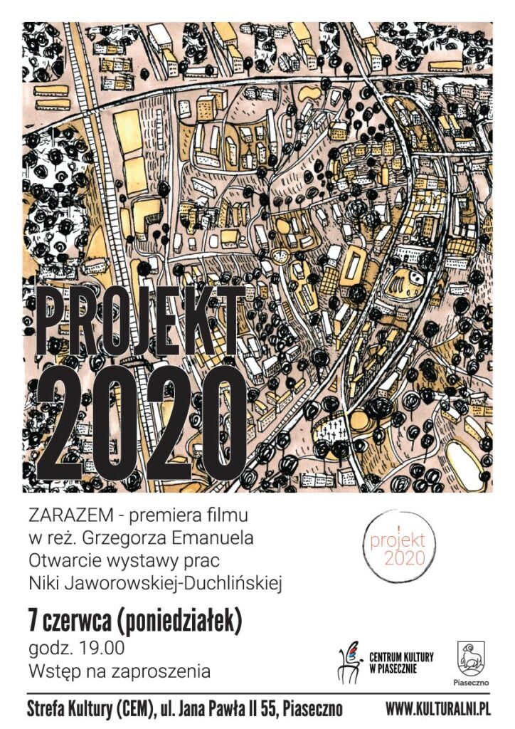 Plakat wydarzenia Projekt 2020
