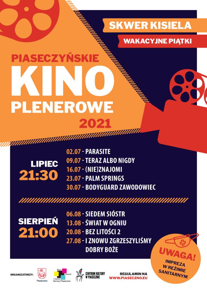 Plakat kina plenerowego