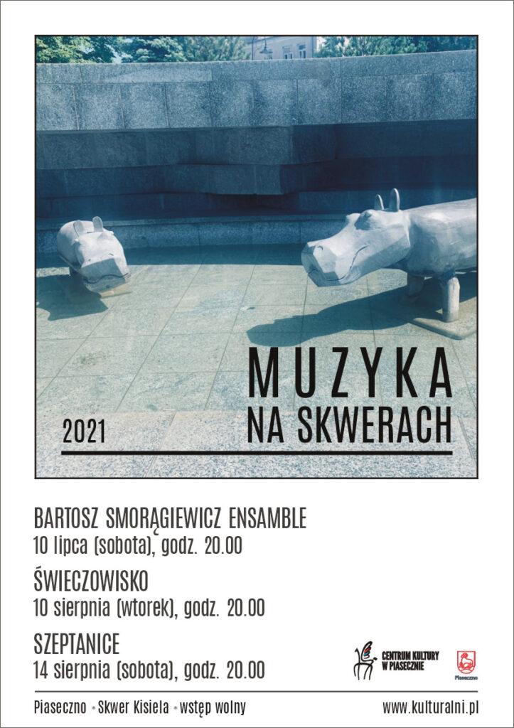 Plakat wydarzenia Muzyka naSkwerach