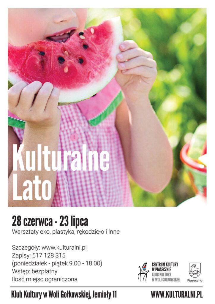 Kulturalne lato - Klub Kultury  Woli Gołkowskiej