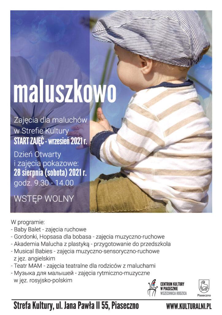 Plakat wydarzenia Maluszkowo. Dzień otwarty