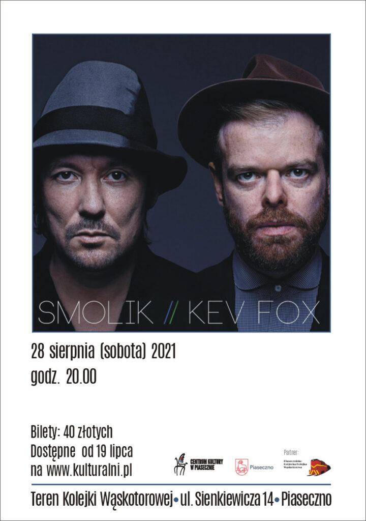 plakat wydarzenia Smolik/Kev Fox