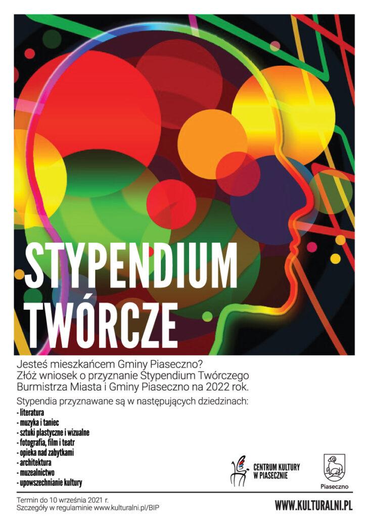 Plakat nowiny  stypendium twórcze