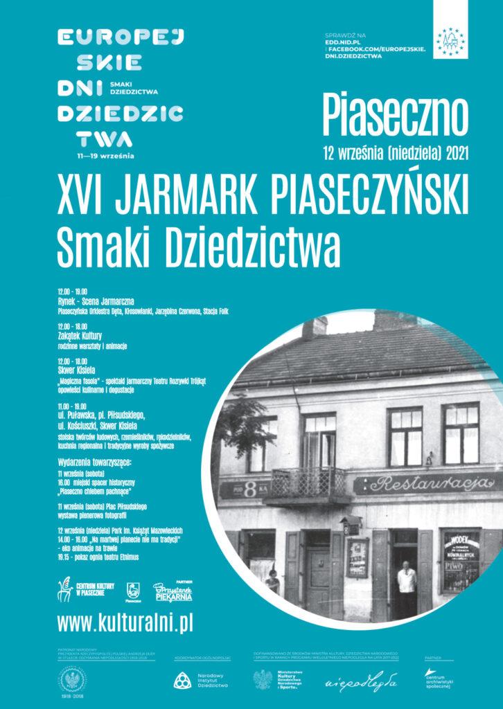 plakat wydarzenia Jarmark piaseczyński