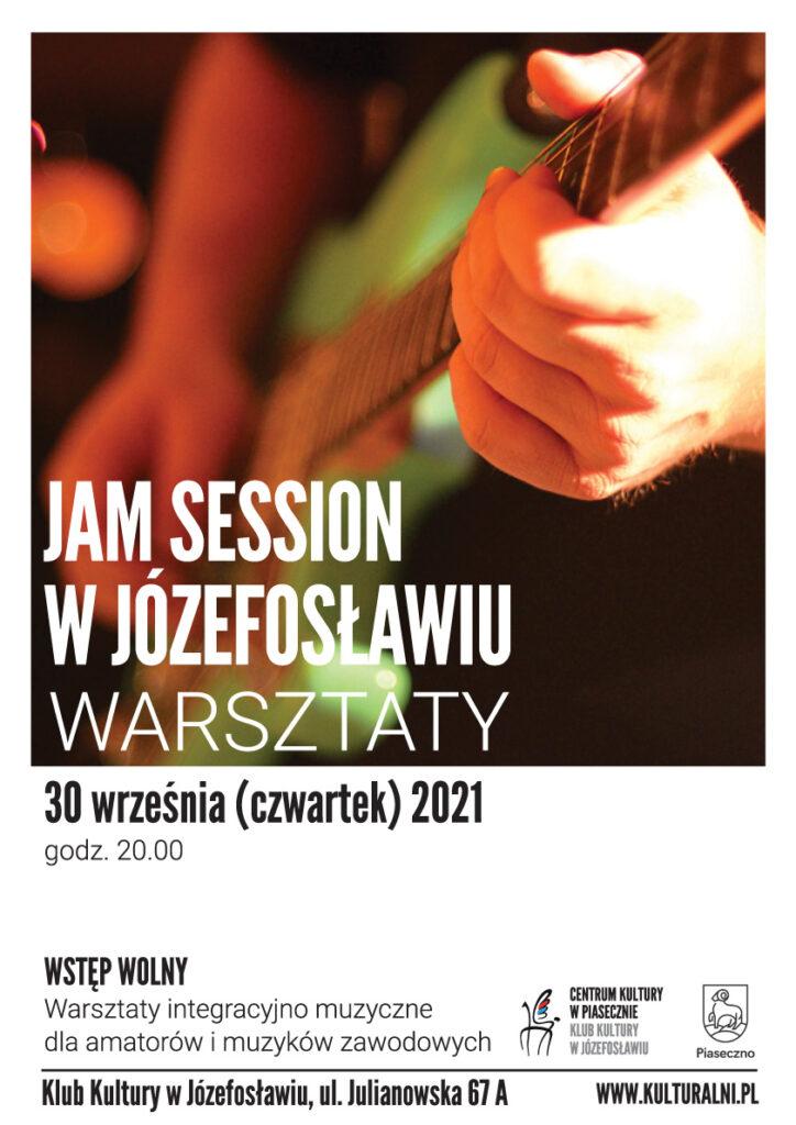 plakat wydarzenia Jam session wJózefosławiu