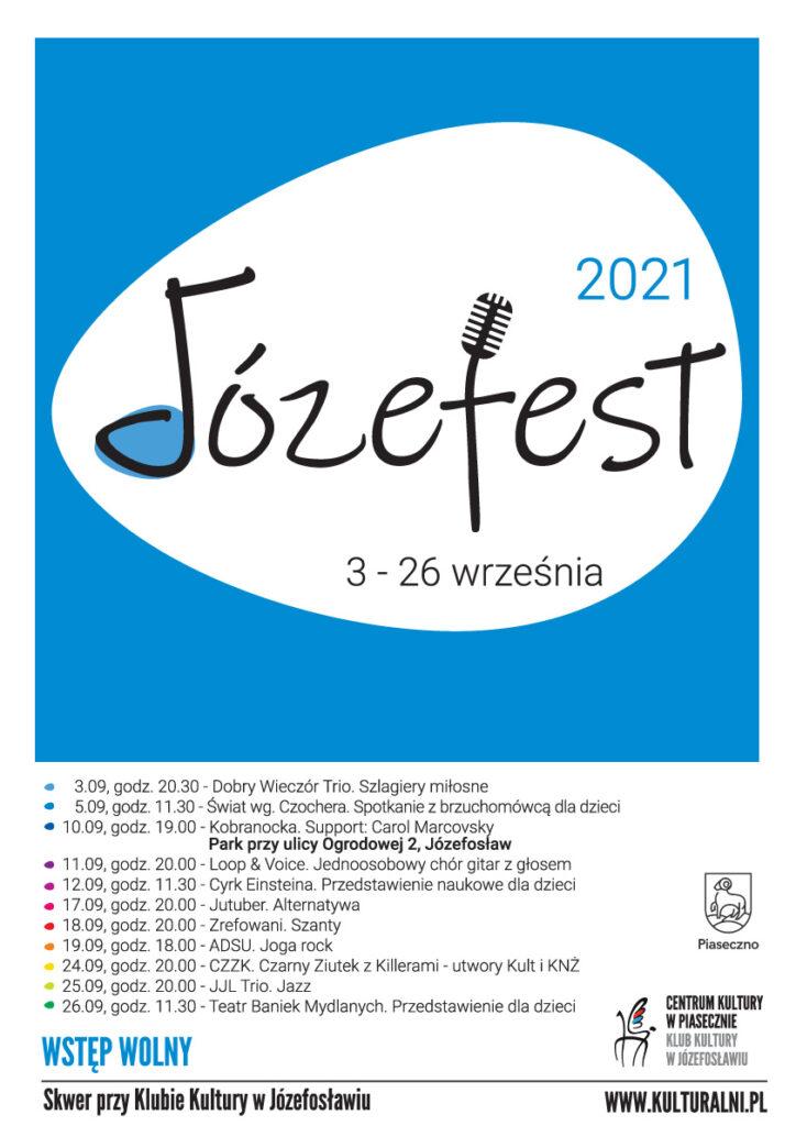 Plakat wydarzenia Józefest 2021