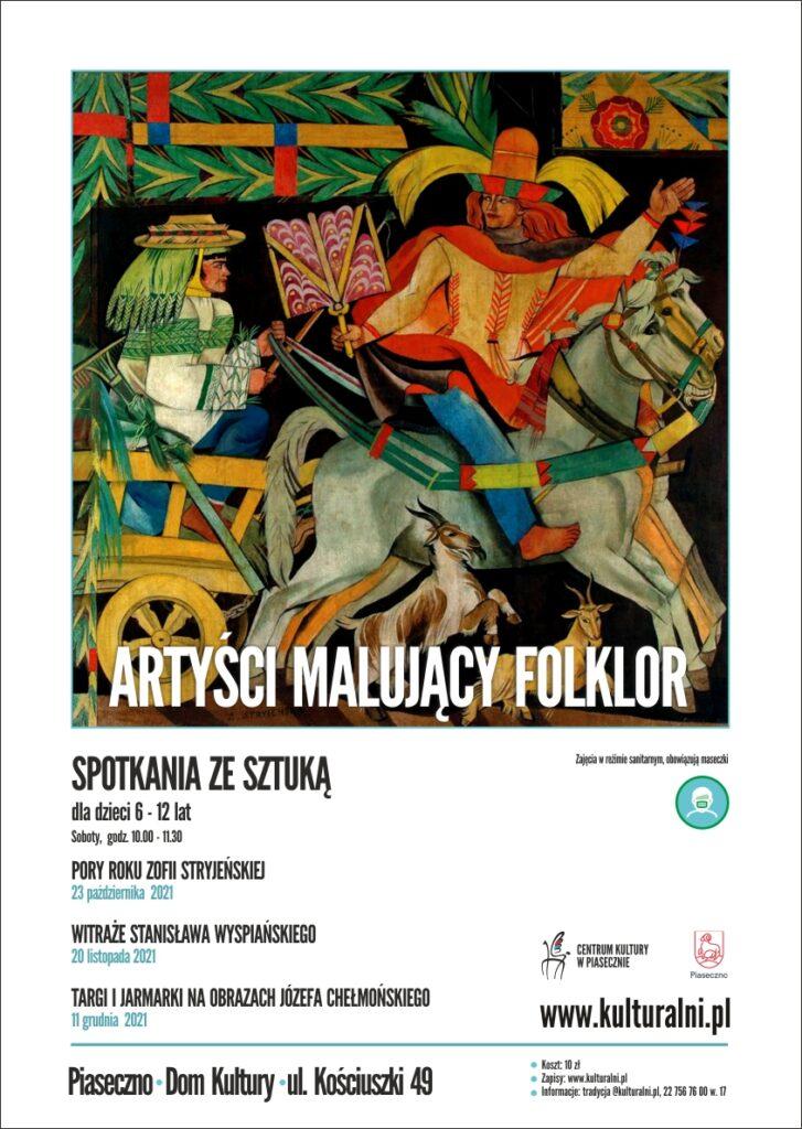 Plakat wydarzenia Artyści malujący folklor